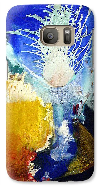 Galaxy Case featuring the painting The Enduring by Carolyn Goodridge