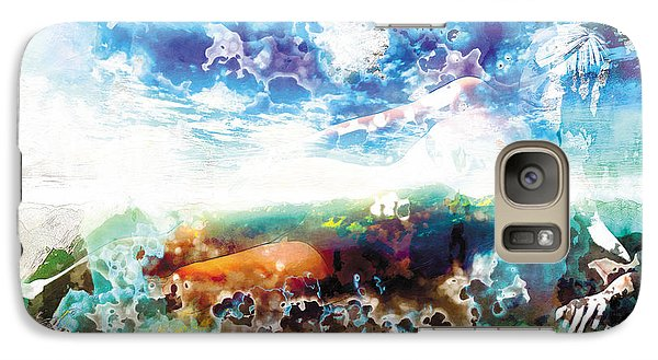 Galaxy Case featuring the painting The Entanglement 2 by The Art of Marsha Charlebois