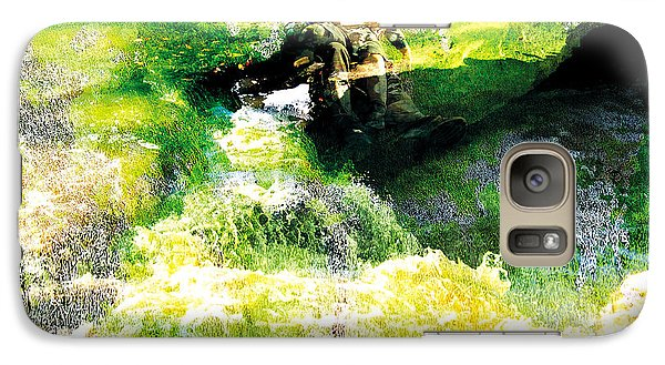 Galaxy Case featuring the photograph The Entanglement 5 by The Art of Marsha Charlebois