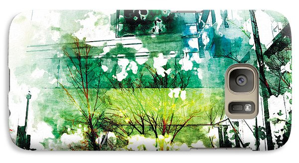 Galaxy Case featuring the photograph The Entanglement 6 by The Art of Marsha Charlebois