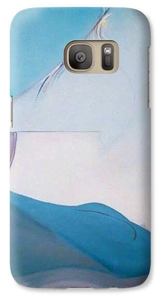 Galaxy Case featuring the painting The Essence Of Temptation by Jodie Marie Anne Richardson Traugott          aka jm-ART