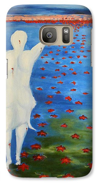 Galaxy Case featuring the painting The Eternal Quest For Happiness  by Geeta Biswas