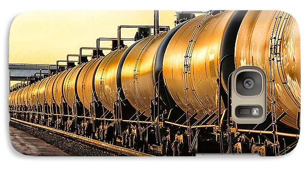 Galaxy Case featuring the photograph The Ethanol Train by Bill Kesler