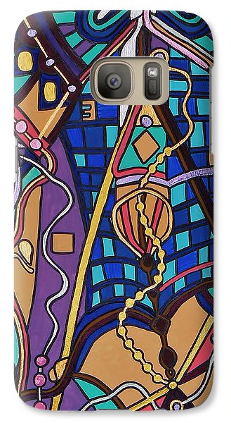 Galaxy Case featuring the painting The Exam by Barbara St Jean