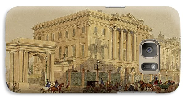 The Exterior Of Apsley House, 1853 Galaxy S7 Case by English School