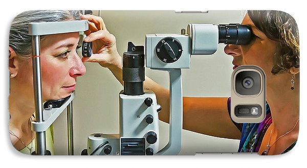 Galaxy Case featuring the photograph The Eye Doctor by Keith Armstrong