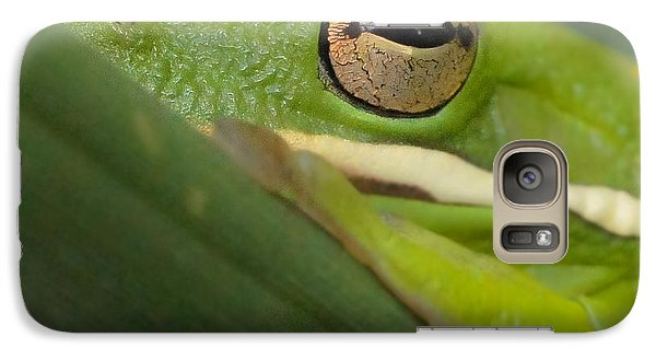 Galaxy Case featuring the photograph The Eye Has It Squared by TK Goforth