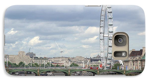 Galaxy Case featuring the photograph The Eye Of London by Keith Armstrong