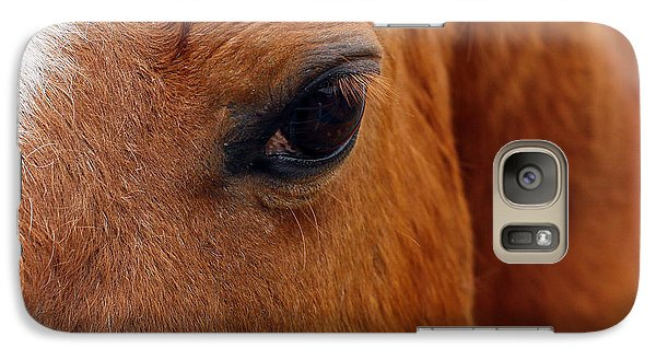Galaxy Case featuring the photograph The Eyes Have It by Denise Pohl