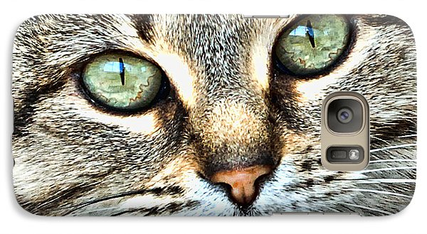 Galaxy Case featuring the photograph The Eyes Have It by Kenny Francis