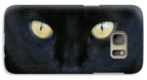 Galaxy Case featuring the photograph The Eyes Have It by Mariarosa Rockefeller
