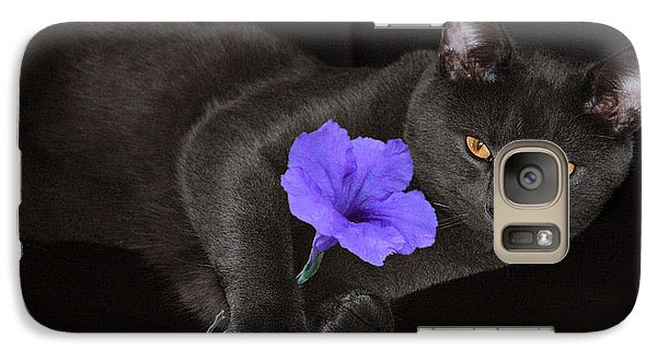 Galaxy Case featuring the photograph The Eyes Have It by Rachel Hames