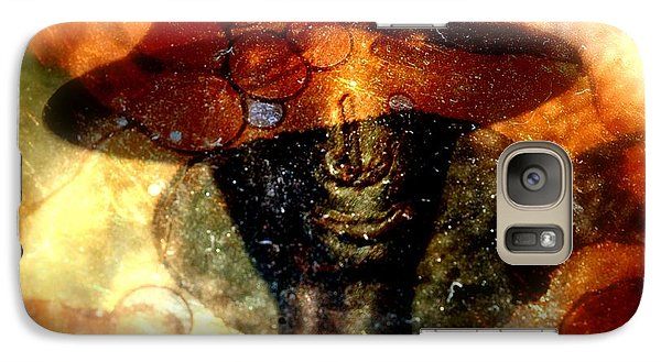 Galaxy Case featuring the photograph The Face Behind The Mask by Irma BACKELANT GALLERIES