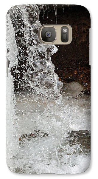 Galaxy Case featuring the digital art The Face Of Winter by Lorna Rogers Photography