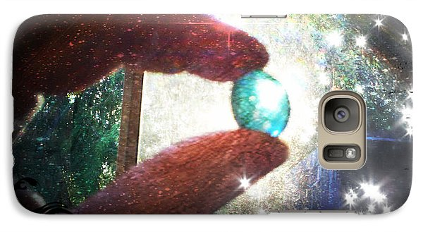 Galaxy Case featuring the photograph The Fairy Stone - Nature Angel  by Absinthe Art By Michelle LeAnn Scott