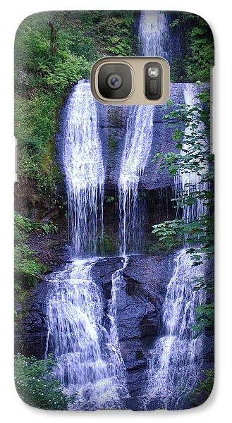 Galaxy Case featuring the photograph The Falls by Amanda Eberly-Kudamik