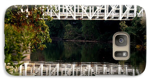 Galaxy Case featuring the photograph The Falls Bridge by Christopher Woods