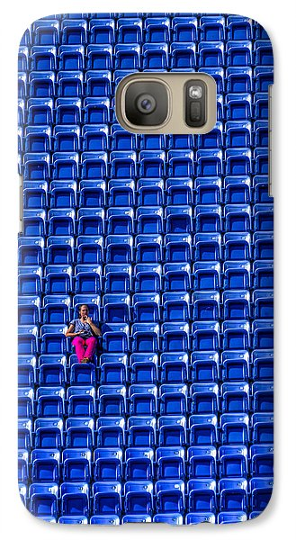 Galaxy Case featuring the photograph The Fan by Rafael Quirindongo