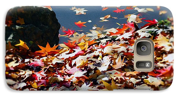 Galaxy Case featuring the photograph The Feeling Of Autumn by Yue Wang