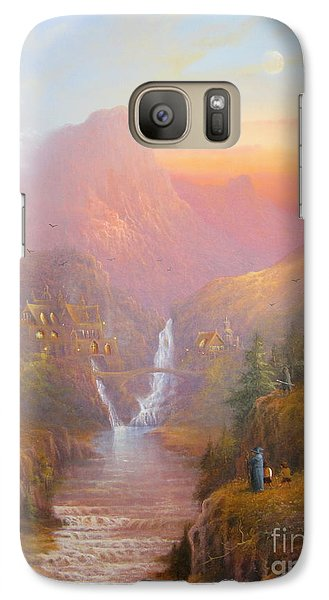 The Fellowship Of The Ring Galaxy S7 Case by Joe  Gilronan
