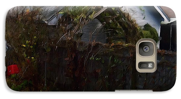 Galaxy Case featuring the digital art The Fence by David Blank
