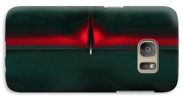 Galaxy Case featuring the digital art The Fight Of The Phoenix by Martina  Rathgens