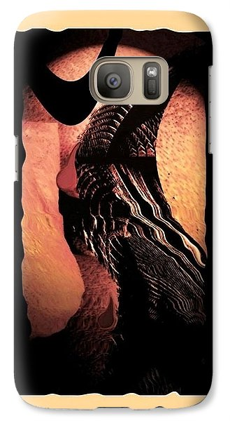 Galaxy Case featuring the photograph The Final Cut by Steve Godleski