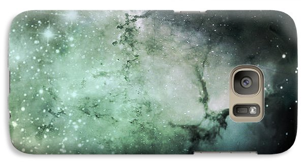 Galaxy Case featuring the photograph The Final Frontier by Cynthia Lassiter
