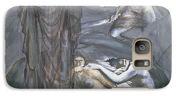 The Finding Of Medusa, C.1876 Galaxy S7 Case by Sir Edward Coley Burne-Jones