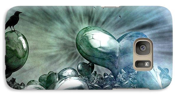 Galaxy Case featuring the digital art Lost Hearts by Gabiw Art