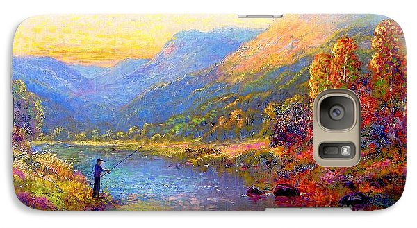 Fishing And Dreaming Galaxy S7 Case
