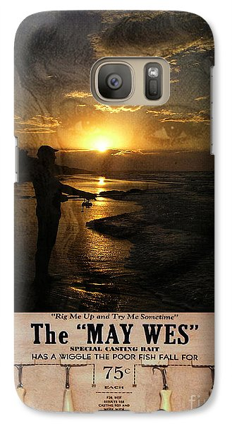 Galaxy Case featuring the photograph The Fishing Lure No3 by Megan Dirsa-DuBois