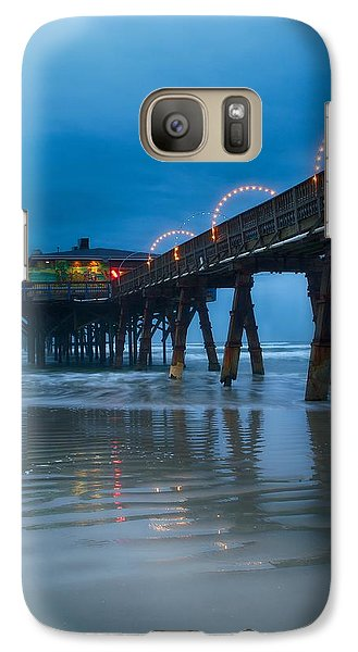 Galaxy Case featuring the photograph The Fishing's Fine by Rob Wilson
