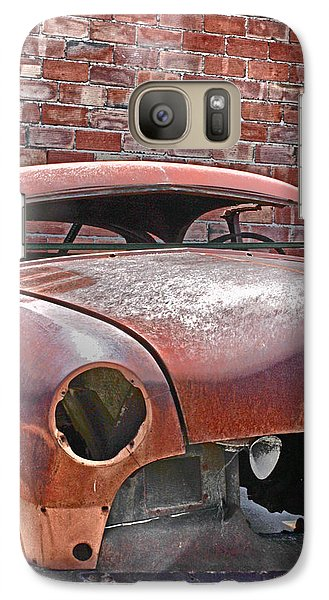 Galaxy Case featuring the photograph The Fixer Upper by Lynn Sprowl