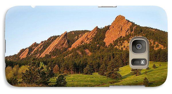 The Flatirons - Spring Galaxy S7 Case
