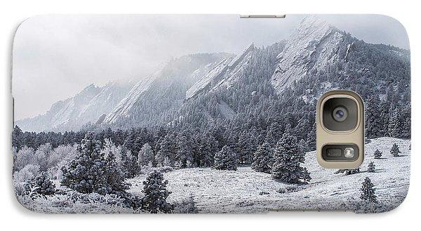 The Flatirons - Winter Galaxy S7 Case