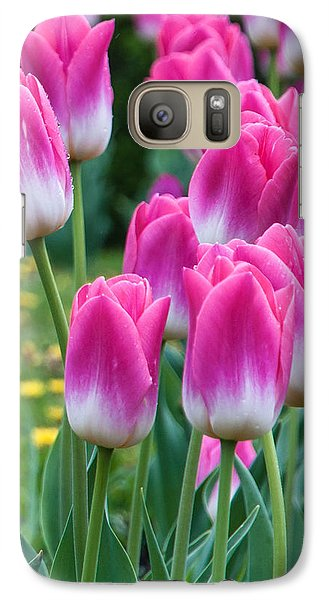 Galaxy Case featuring the photograph The Flower Magnificence by Sergey Simanovsky