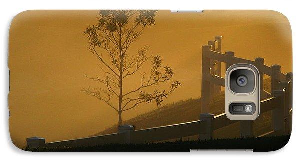 Galaxy Case featuring the photograph The Fog by Oscar Alvarez Jr