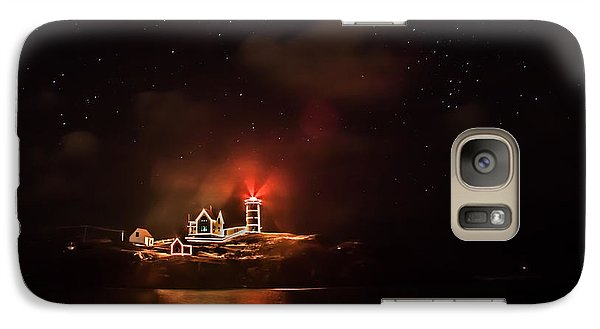 Galaxy Case featuring the photograph The Fog Rolls In by Jeff Folger
