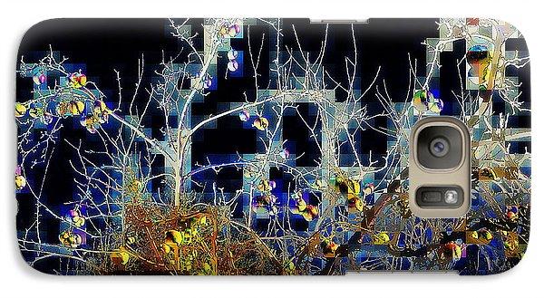 Galaxy Case featuring the photograph The Forbidden Fruit by Jodie Marie Anne Richardson Traugott          aka jm-ART