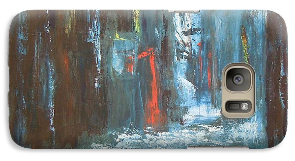 Galaxy Case featuring the painting The Free Passage by Mini Arora