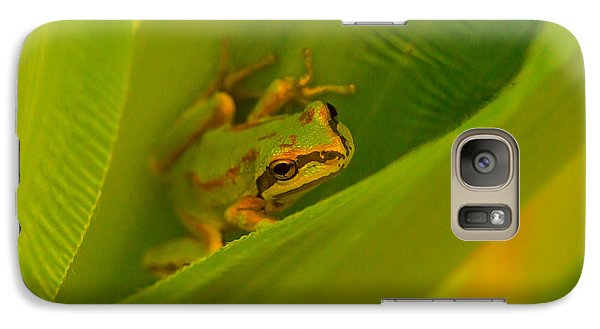 Galaxy Case featuring the photograph The Frog by Dennis Bucklin