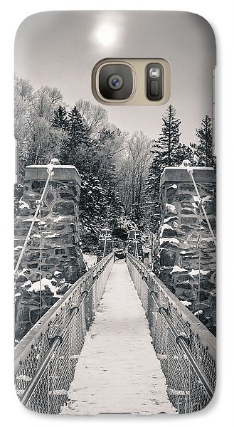 Galaxy Case featuring the photograph The Frost Across by Mark David Zahn