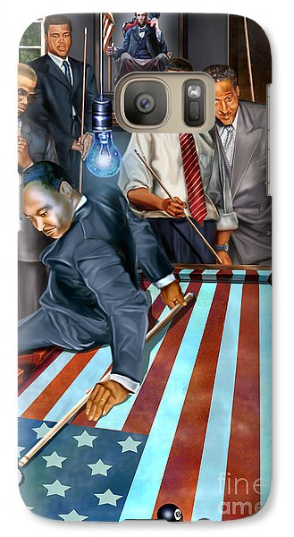 Politicians Galaxy S7 Case - The Game Changers And Table Runners by Reggie Duffie