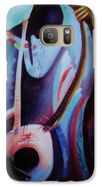 Galaxy Case featuring the painting The Garaya II by Oyoroko Ken ochuko