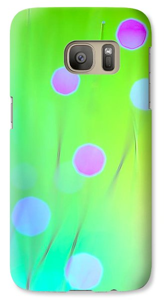 Galaxy Case featuring the photograph The Garden by Dazzle Zazz