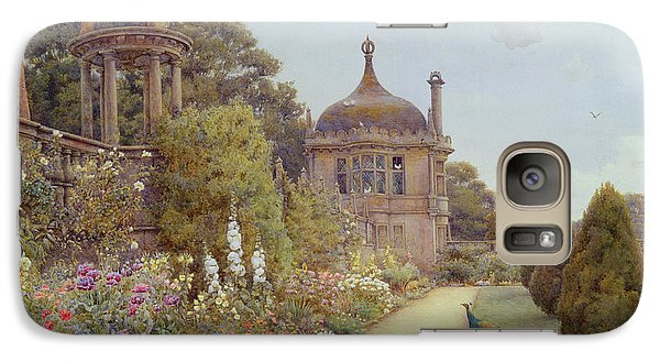 The Gardens At Montacute In Somerset Galaxy Case by Ernest Arthur Rowe