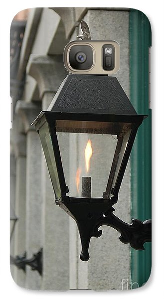 Galaxy Case featuring the photograph The Gas Light by Patrick Shupert