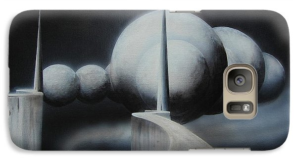 Galaxy Case featuring the painting The Gateway by Tim Mullaney
