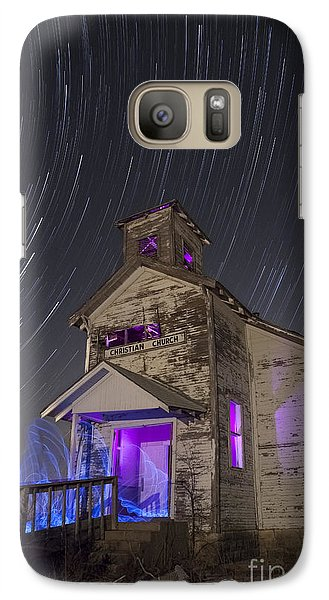 Galaxy Case featuring the photograph The Gathering by Keith Kapple